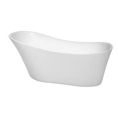Janice 67 x 29.25 Soaking Bathtub