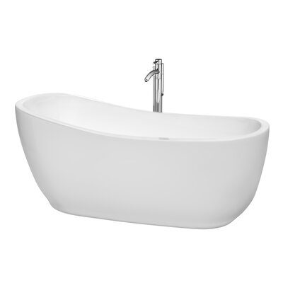 Margaret 66.5 x 27.5 Soaking Bathtub