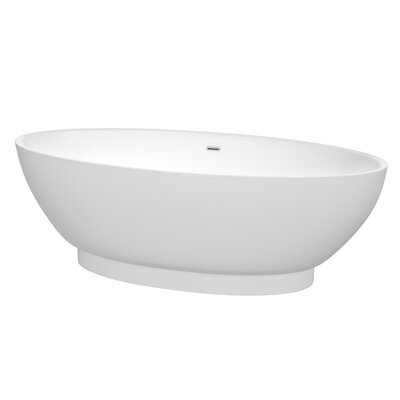 Helen 70.5 x 30 Soaking Bathtub