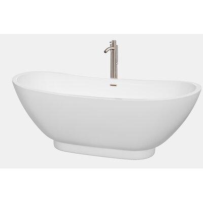Clara 69 x 29.5 Soaking Bathtub