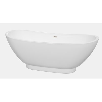 Clara 69 x 29.5 Soaking Bathtub