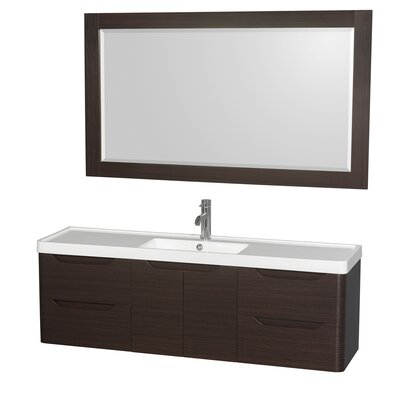 Murano 60 Single Bathroom Vanity with Mirror