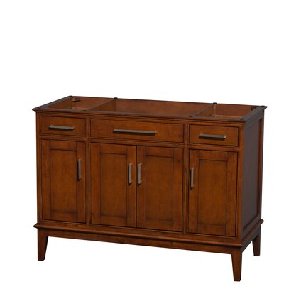 Hatton Single Bathroom Vanity Base Base Finish: Light Chestnut