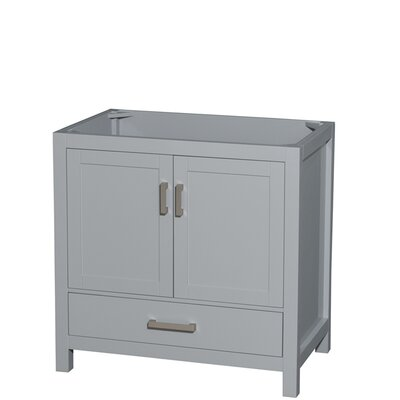 Sheffield 60 Double Bathroom Vanity Base Base Finish: Gray