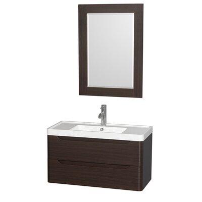 Murano 36 Single Bathroom Vanity Set with Mirror