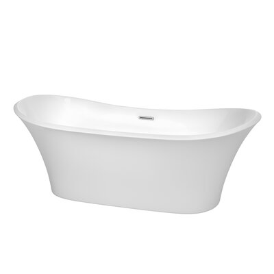 Bolera 71 x 31.5 Soaking Bathtub