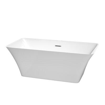 Tiffany 59 x 29.5 Soaking Bathtub