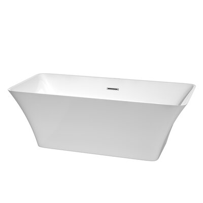 Tiffany 67 x 29.5 Soaking Bathtub