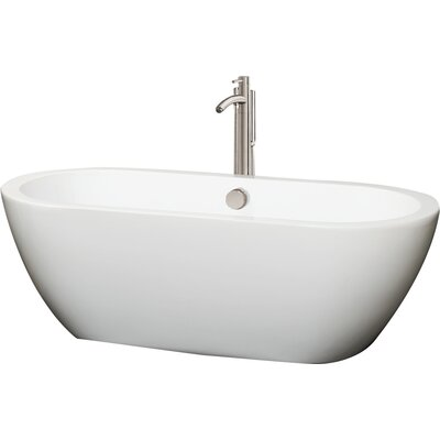 Soho 68 x 31 Soaking Bathtub Color: Brushed Nickel