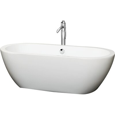 Soho 68 x 31 Soaking Bathtub Color: Polished Chrome