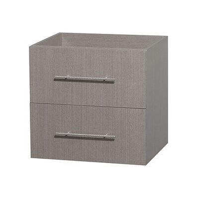 Centra 23 Single Bathroom Vanity Base Base Finish: Gray Oak