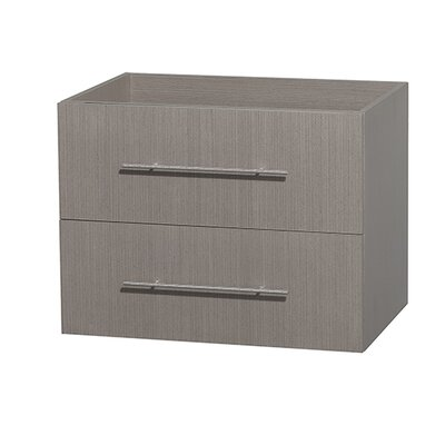 Centra 29 Single Bathroom Vanity Base Base Finish: Gray Oak