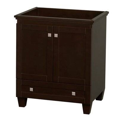 Acclaim 29 Single Bathroom Vanity Base Base Finish: Espresso