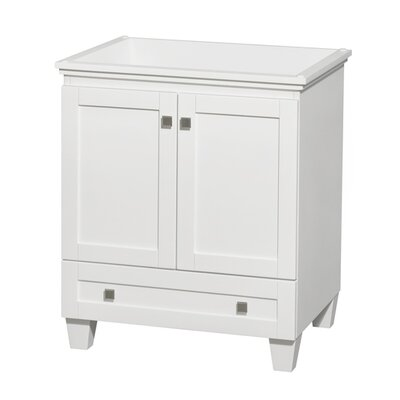 Acclaim 29 Single Bathroom Vanity Base Base Finish: White