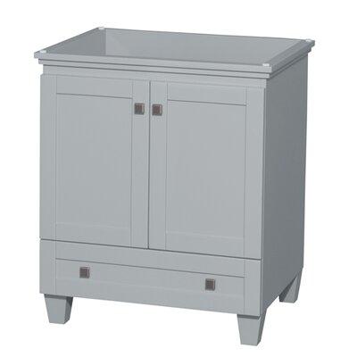 Acclaim 29 Single Bathroom Vanity Base Base Finish: Oyster Gray