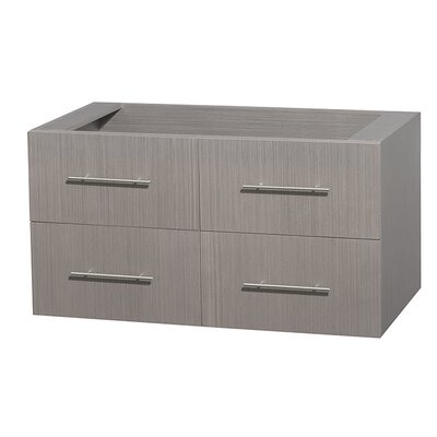 Centra 41 Single Bathroom Vanity Base Base Finish: Gray Oak