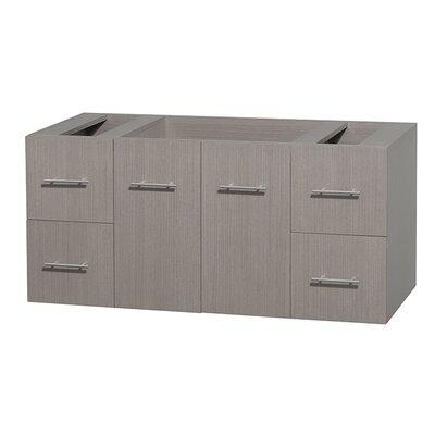 Centra 47 Single Bathroom Vanity Base Base Finish: Gray Oak