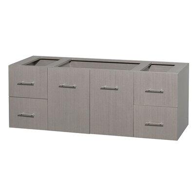 Centra 59 Single Bathroom Vanity Base Base Finish: Gray Oak