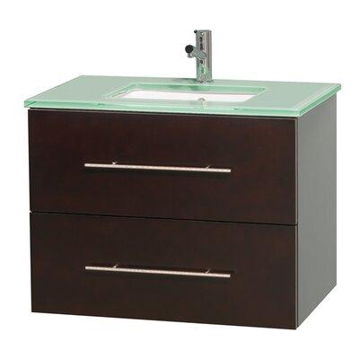 Centra 30 Single Bathroom Vanity Base Finish: Espresso