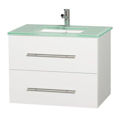 Centra 30 Single Bathroom Vanity Base Finish: Matte White
