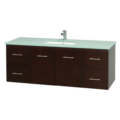 Centra 60 Single Bathroom Vanity Set Base Finish: Espresso
