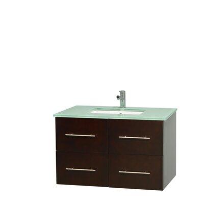 Centra 36 Single Bathroom Vanity Set Base Finish: Espresso