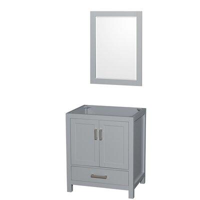 Sheffield 29 Single Bathroom Vanity Base Base Finish: Gray