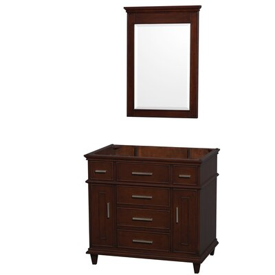 Sheffield 29 Single Bathroom Vanity Base Base Finish: Espresso