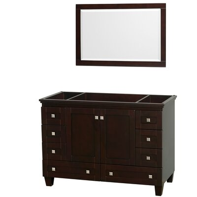Acclaim 47 Single Bathroom Vanity Base Base Finish: Espresso