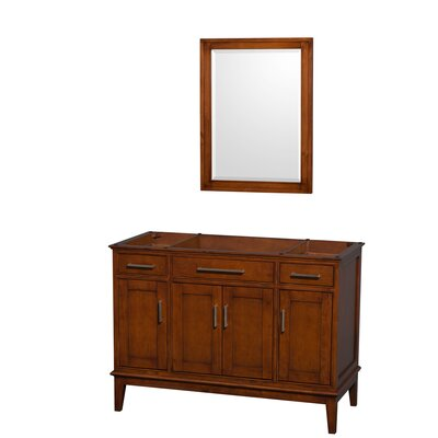 Hatton 47 Single Bathroom Vanity Base Base Finish: Light Chestnut