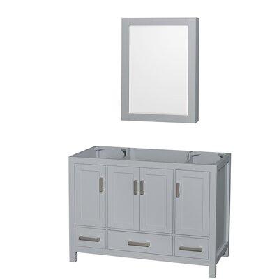 Sheffield 47 Single Bathroom Vanity Base Base Finish: Gray