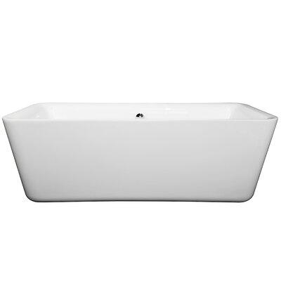 Ambra 69 x 30 Freestanding Soaking Bathtub