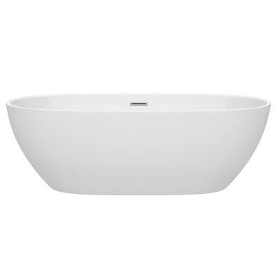 Juno 71 x 32 Freestanding Soaking Bathtub