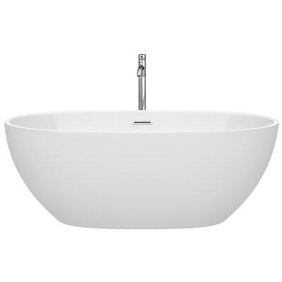 Juno 63 x 32 Freestanding Soaking Bathtub