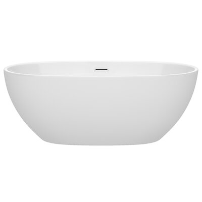 Juno 63 x 32 Freestanding Soaking Bathtub