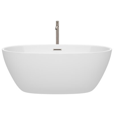 Juno 59 x 32 Freestanding Soaking Bathtub