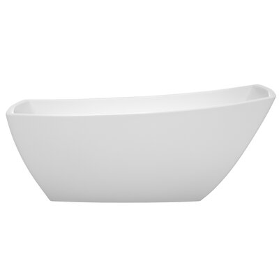 Antigua 67 x 31 Freestanding Soaking Bathtub