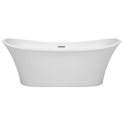 Bolera 71 x 31.5 Freestanding Soaking Bathtub