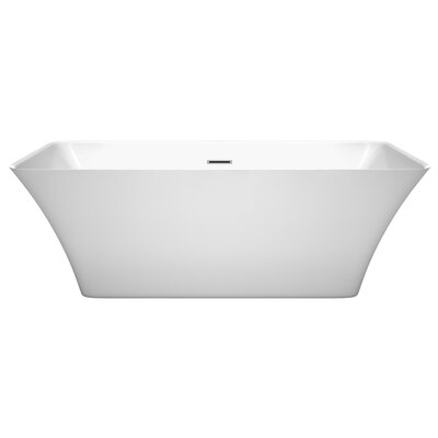 Tiffany 67 x 29.5 Freestanding Soaking Bathtub