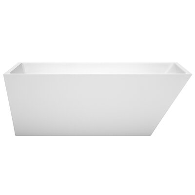 Hannah 67 x 31.5 Freestanding Soaking Bathtub