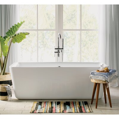 Laura 67 x 30 Soaking Bathtub