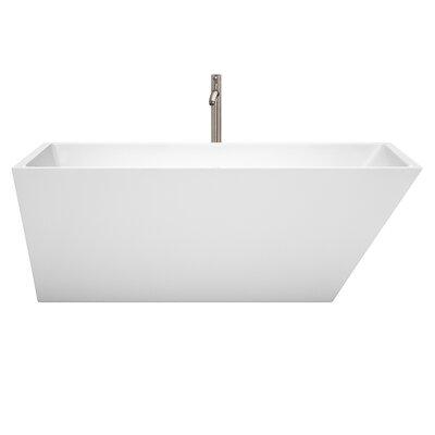 Hannah 67 x 31.5 Freestanding Soaking Bathtub
