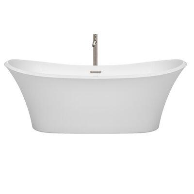 Bolera 71 x 31.5 Freestanding Soaking Bathtub