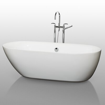 Melissa 71 x 33 Soaking Bathtub