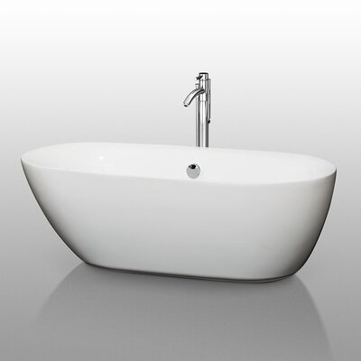 Melissa 65 x 31.25 Soaking Bathtub