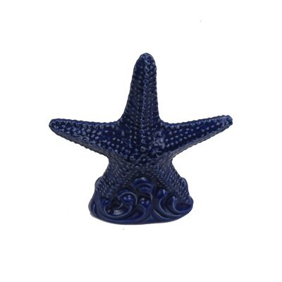 Ceramic Sea Star Sculpture