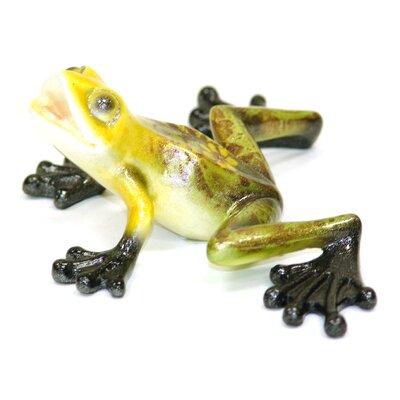 Polyresin Frog Figurine 78050