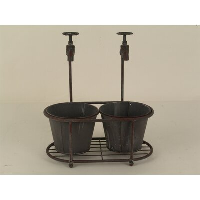 Decorative Faucet Bucket Set of 2