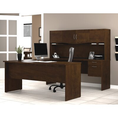 U Shape Executive Desk Hutch Harmony Product Picture 404