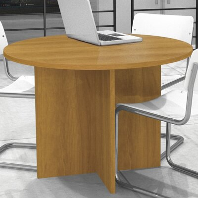 3 6 Circular Conference Table Finish: Cappuccino Cherry